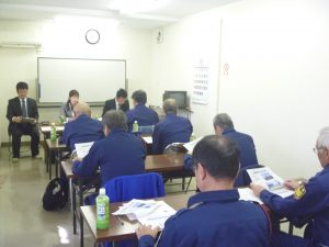 港湾施設等での警備の意義と重要性 研修会!